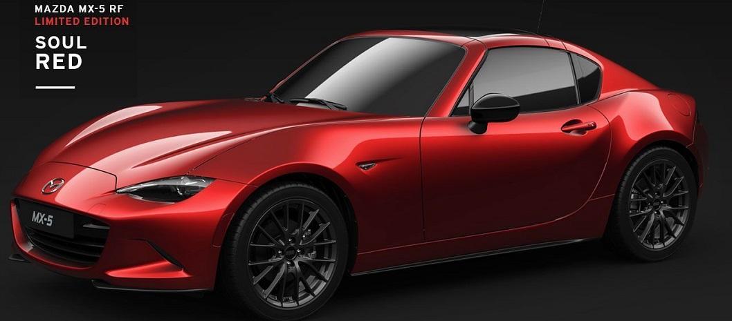 MAZDA MX-5 RF Limited Edition in Italia al prezzo di 36.500€