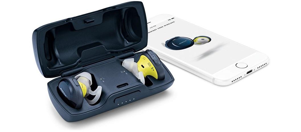 Bose SoundSport Free: auricolari completamente senza fili